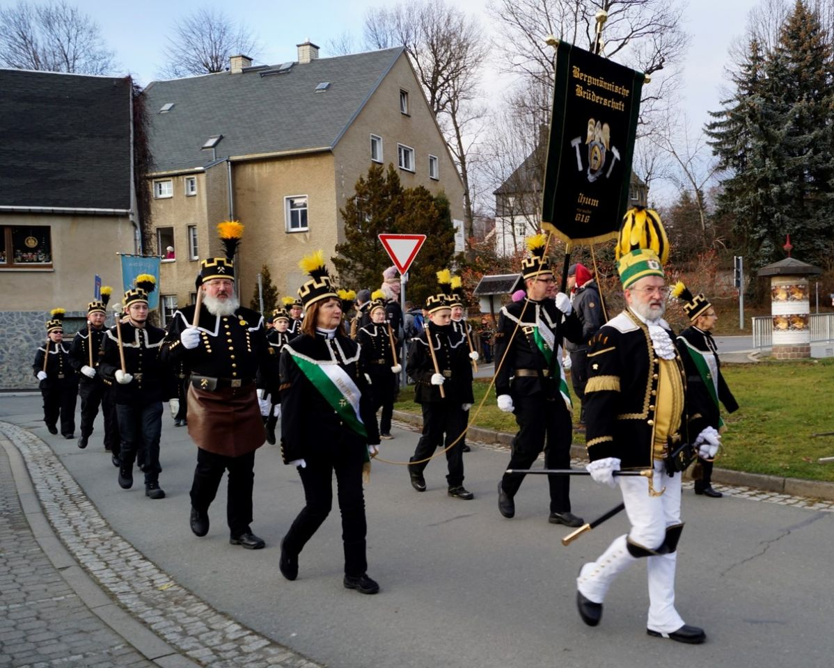 Bergparade in Thum